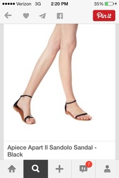 shoes,sandals black simple ankle strap flat