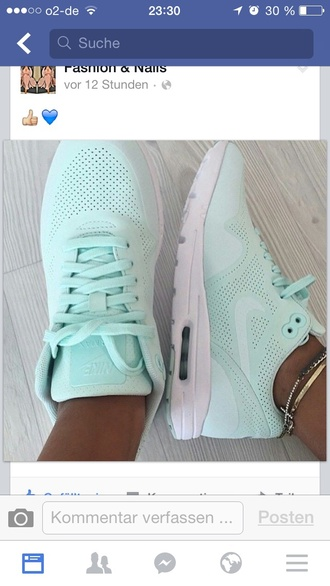 shoes mint green shoes nike shoes white sole