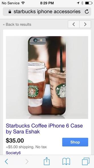 phone cover starbucks coffee