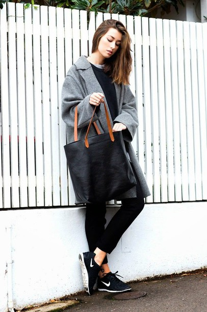 the chronicles of her pants coat sweater shirt shoes bag jewels apc tote bag french girl style