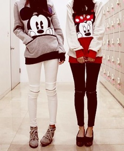 black jeans jacket boots band t-shirt mickey mouse sweater