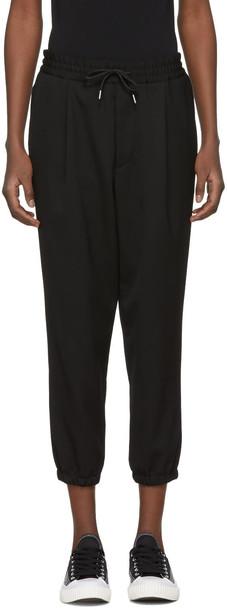 McQ Alexander McQueen pants track pants black