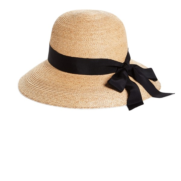Brooks Brothers Raffia Sun Hat - Polyvore
