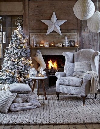 home accessory tumblr home decor holiday home decor home furniture chair christmas knitted pillow pillow decoration christmas home decor