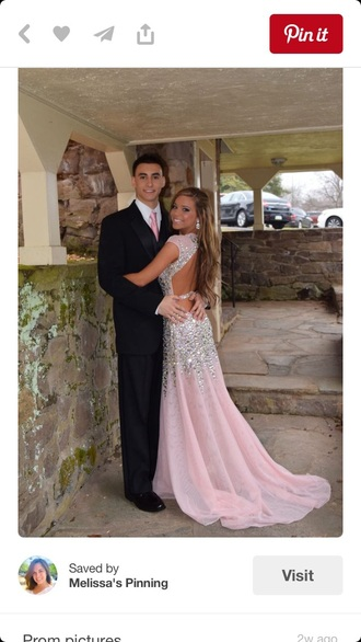 dress pink dress pink pink prom dress prom dress prom gown prom backless prom dress pretty style beautiful