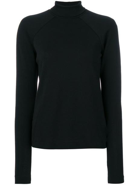 Haider Ackermann - roll neck jumper - women - Wool - M, Black, Wool