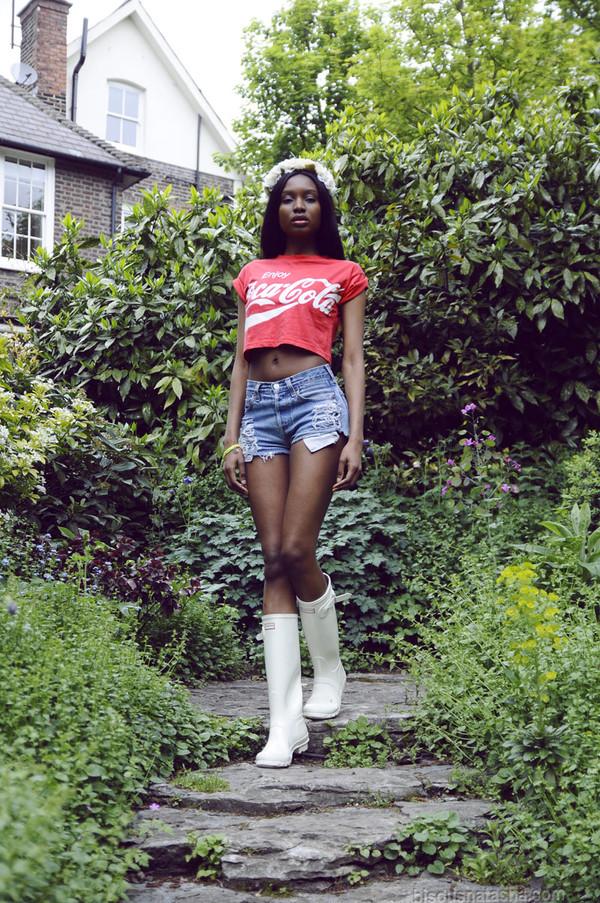 bisous natasha t-shirt shorts shoes jewels