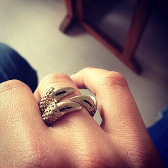 jewels claw ring claws ring silver silver ring bird claw dress