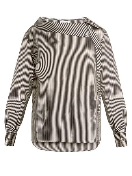 Altuzarra blouse black top
