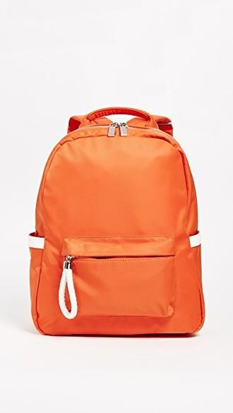 backpack orange bag