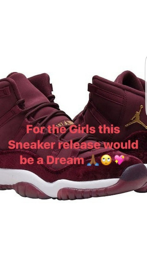 898f321ef84ac Air Jordan 11 Velvet Night Maroon Release Date - Sneaker Bar Detroit