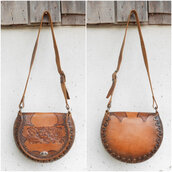 bag,womens saddle bag,crossbody bag,vintage leather purse