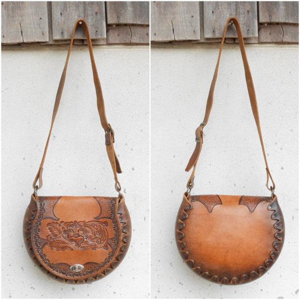 bag womens saddle bag crossbody bag vintage leather purse
