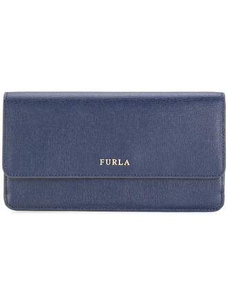 women purse leather blue bag