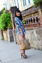 daily disguise,blogger,jacket,shirt,pants,shoes,bag,make-up