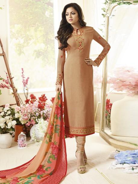 Dress Drashti Dhami Bollywood Suits Ethnic Wear Women Clothing