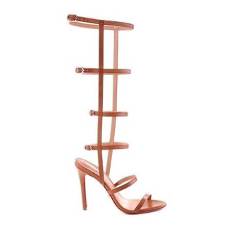 shoes nude strappy gladitor heels
