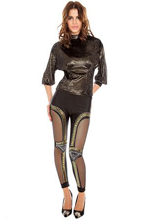 Super Sexy Embellished Leggings