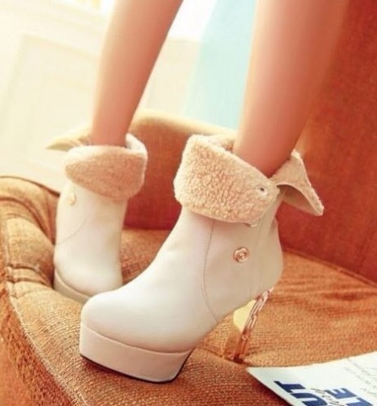 white feathers shoes heels ankle boots boots high heels cute shoes