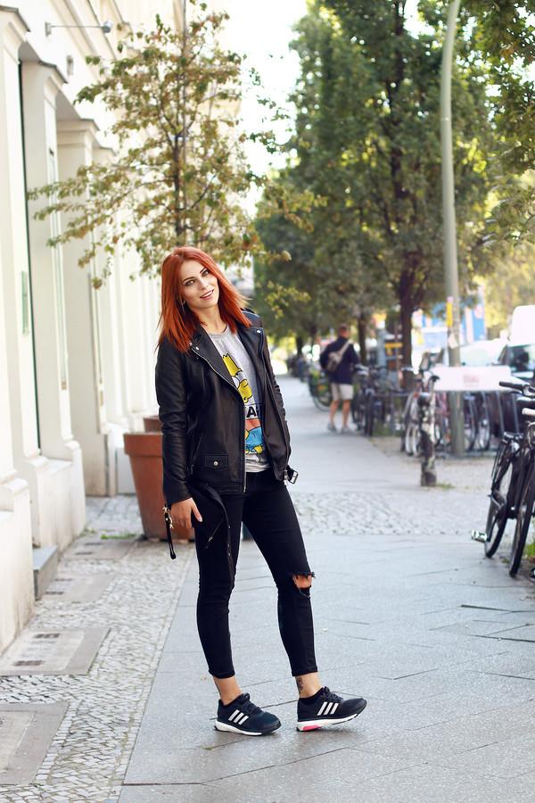 masha sedgwick blogger shoes jacket bag eleven paris