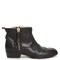 Anouk western distressed-leather ankle boots