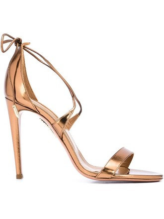 sandals lace brown shoes