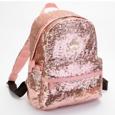 Bling Bling Crown Backpack Women Ladies Girls Leisure School Pink ...