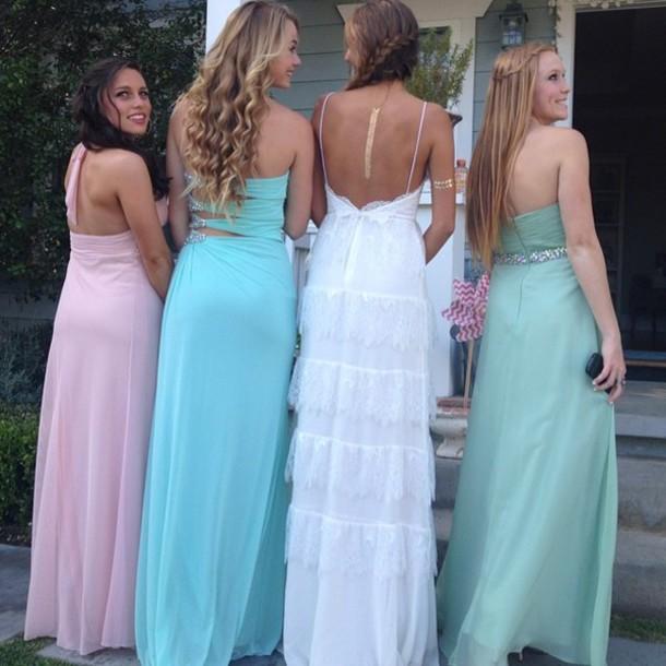 Prom beaches dresses