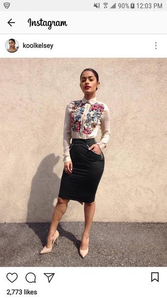 blouse instagram