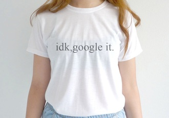 t-shirt fashion google it black and white teenagers google white t-shirt