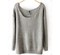 Sparkle grey knit sweater