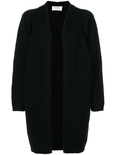 cardigan knitted cardigan cardigan women black sweater