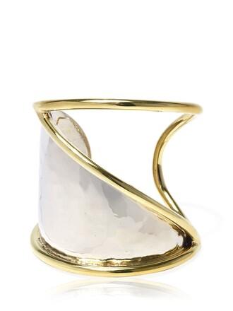 cuff cuff bracelet gold silver jewels