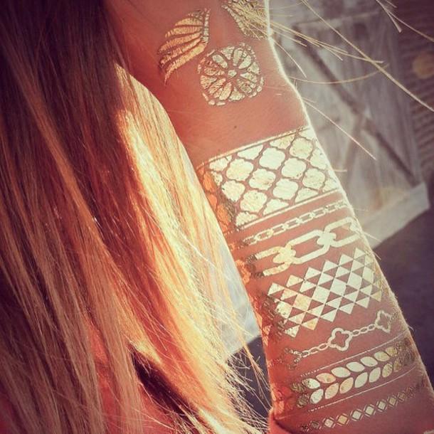 jewels jewel cult flashtattoo chloe flash tattoos fashion tattoos fashion tats tattoo fake tattoos gold tattoos temporary tattoo metallic beyoncé gold metallic tattoo metallic tattoo bling gold boho coachella festival festival