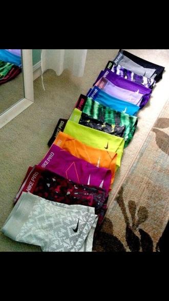 shorts nike sportswear rainbow shorts sports shorts