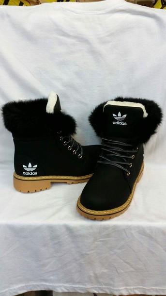 Furry Adidas Women Shoes