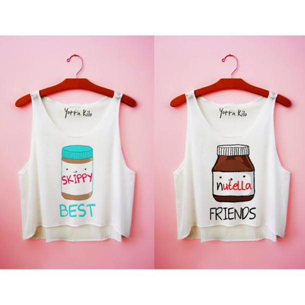 Tank Top Nutella Bff Wheretoget