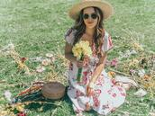ohsoglam,blogger,dress,shoes,hat,bag,sunglasses