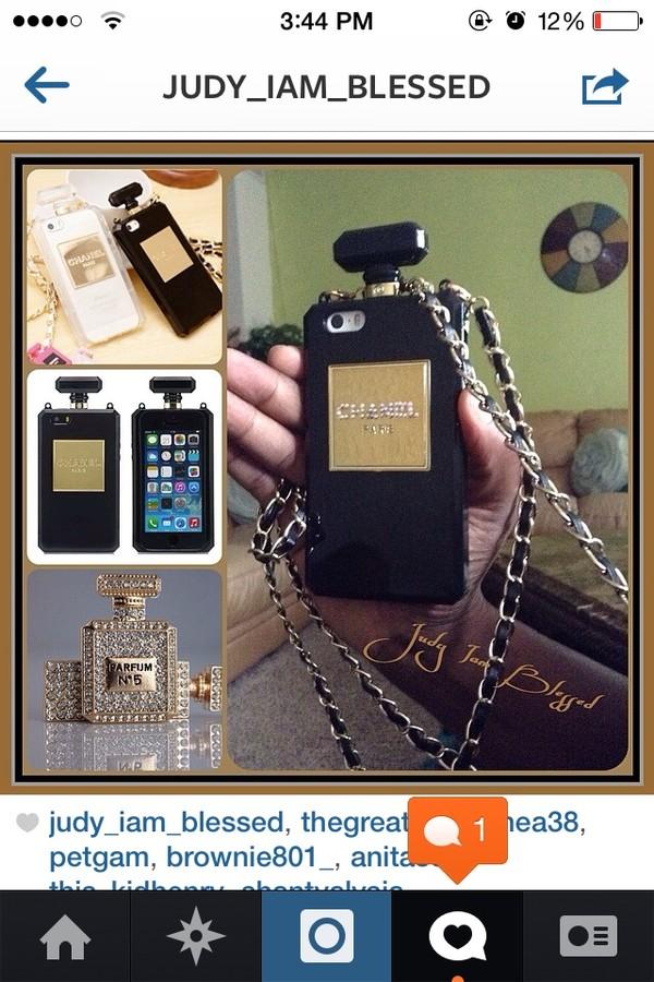 jewels iphone phone cover chanel phone case iphone case cute case ...