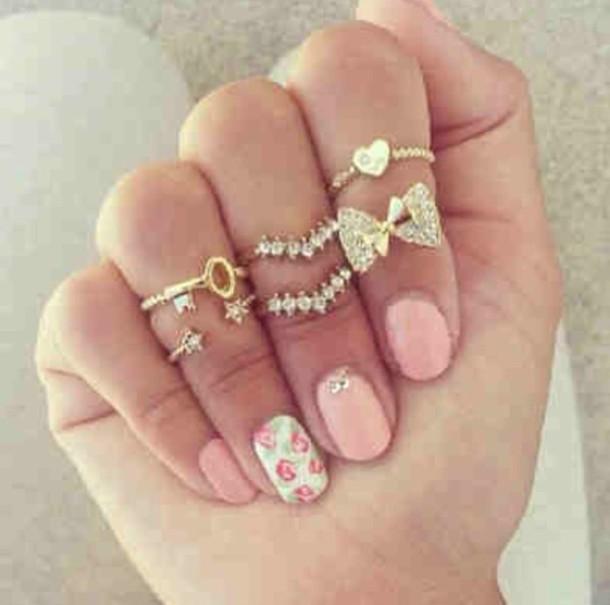 nail accessories jewels jewelry