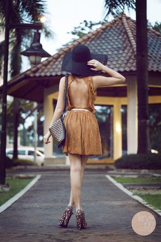 kryzuy dress hat belt bag shoes jewels