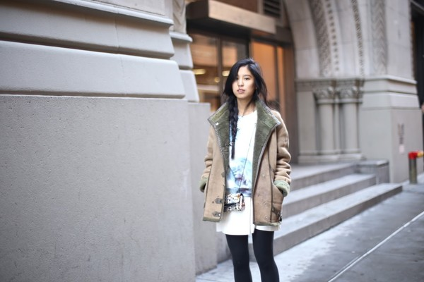kristenglam sweater skirt jacket shoes