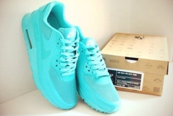 shoes light blue air max nike shoes