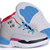 Jordans 12 Kids Style Grey/Blue/White and Black & Pink/Red Colorways -