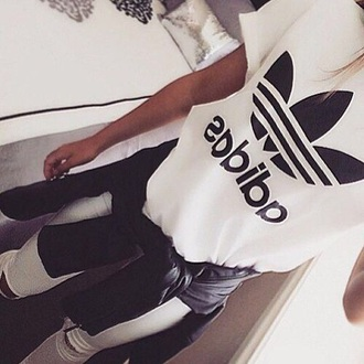 t-shirt white black women tshirts tshirt. adidas shirt adidas t-shirt white t-shirt black t-shirt adidas wings