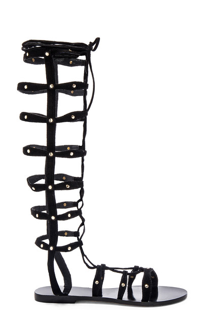 RAYE Shanna Gladiator Sandal in black