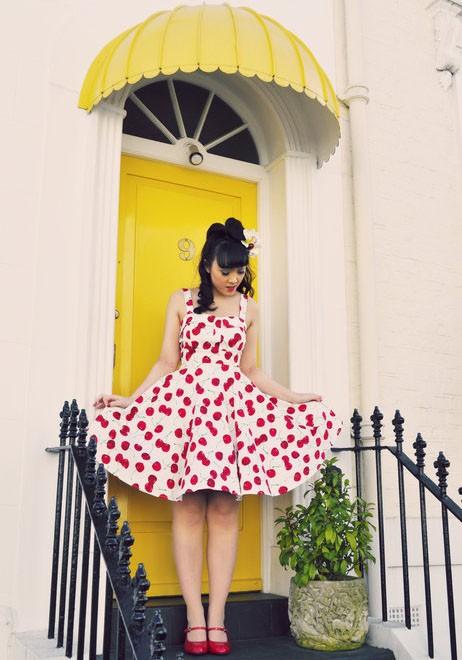 Camisole Neckline Short Skirt
