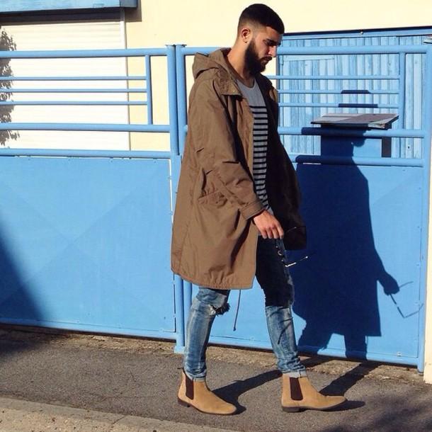 jacket brown jacket