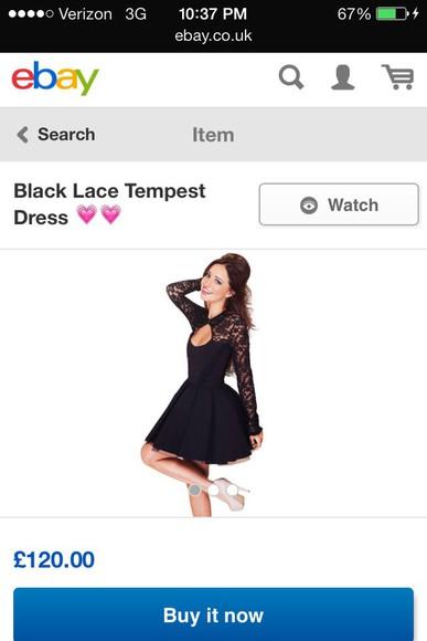 long sleeves backless skater skirt tempest