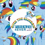 home accessory,rainbow my little pony poster,olivia magris,art,poster,home decor,decoration,my little pony,colorful,multicolor,firenze4ever,rainbow